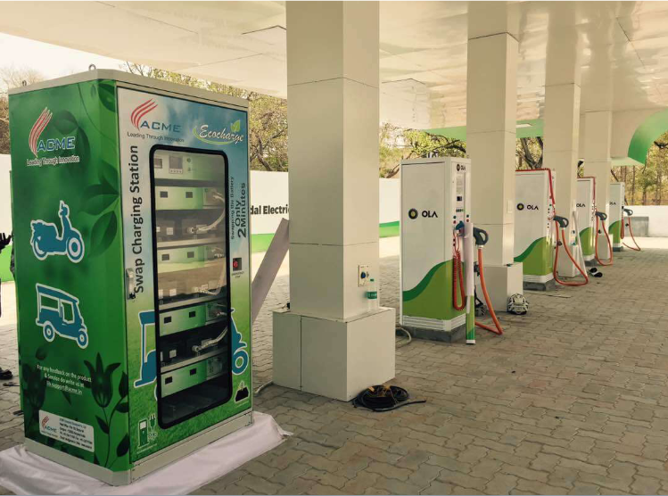 IESA's Debi Prasad Dash said that the EV and renewable energy industries alike will benefit from the cut although IESA colleague Rahul Walawalkar urged the government to go further. Image: ACME.