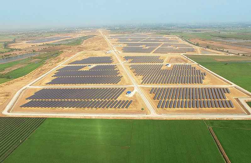B.Grimm will receive a FiT at US$9.35 cents per kWh for a period of 20 years for two major projects. Credit: B.Grimm