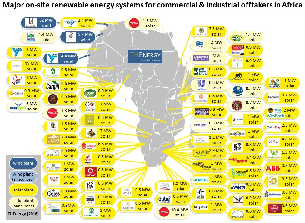 If you can help build the picture of Africa's C&I solar opportunity, click the map for more details on THEnergy's survey.