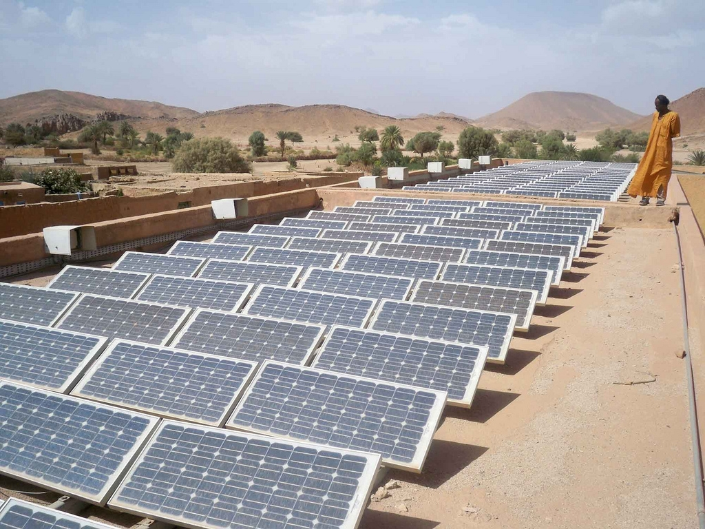Algeria approved a renewable energy programme this year. Flickr: Magharebia