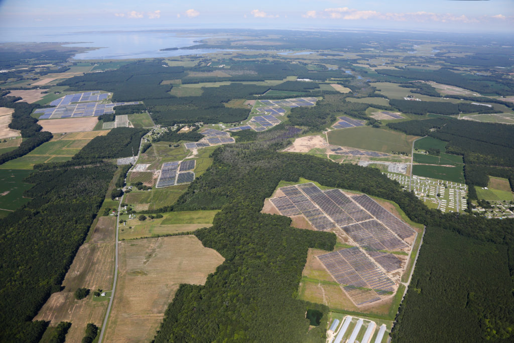 The projects, Amazon Solar Farm US East 2, Amazon Solar Farm US East 3, Amazon Solar Farm US East 4, and Amazon Solar Farm US East 5 are individual facilities, each with a capacity of 20MW, located in New Kent, Buckingham, Sussex, and Powhatan counties respectively. Amazon Solar Farm US East 6 was said to be a 100MW facility in Southampton County, Virginia.