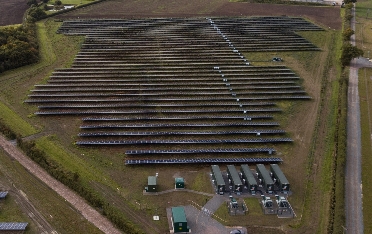 Anesco has more than 100MW of operational battery storage at its disposal with a pipeline of 380MW to connect by 2020. Credit: Anesco