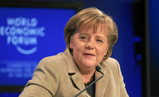 Angela Merkel becomes Germany's Chancellor for a record-equalling fourth term. Image: World Economic Forum.