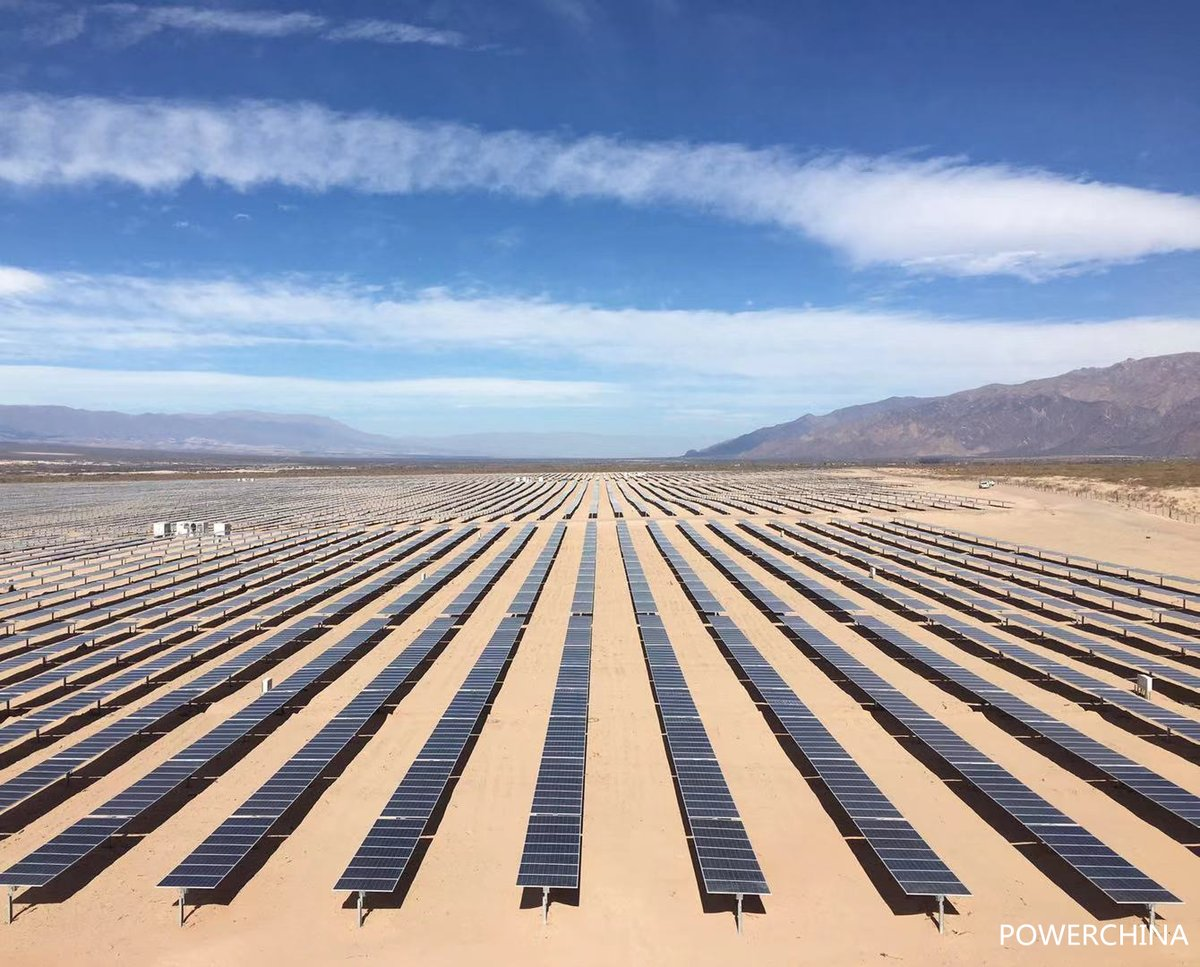 The 97.5MW installation in Argentina's northwest reaped auction support in 2016 and was acquired by Canadian Solar almost two years later (Credit: Argentinian Energy Secretariat)
