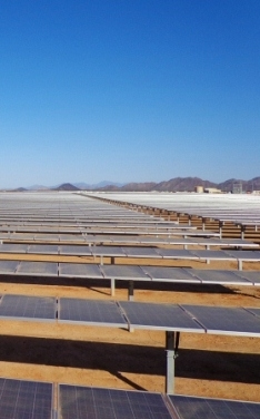 Capital Dynamics has taken full ownership of the Arlington Valley Solar II project (Image: LS Power)