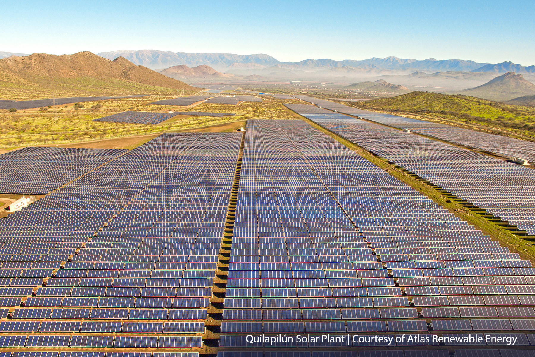Major PV single-axis tracker firm, NEXTracker has secured a major contract with Latin American renewables firm, Atlas Renewable Energy to deploy its 'TrueCapture' self-adjusting tracker control system across its fleet of PV power plants. Image: NEXTracker