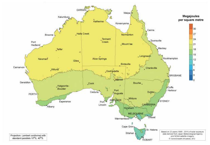 The state currently has just 4% renewables in its energy mix. Credit: NT Government