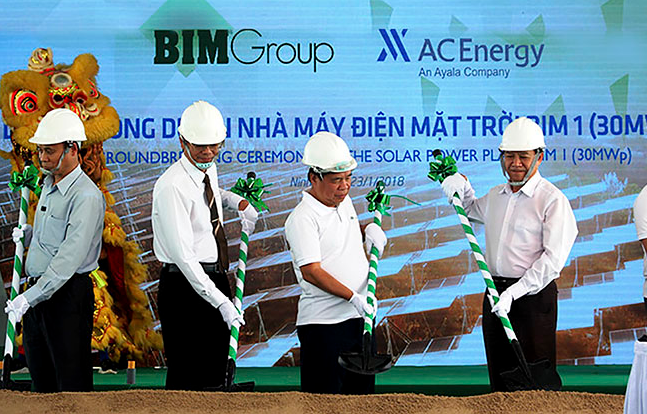 The BIM Solar Power Plant is expected to commence operation in June 2019. Credit: BIM Group