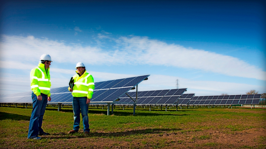 The projects have been brought forward by Irish solar developer BNRG. Image: BNRG.