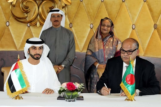 The deal signed with UAE comes as Bangladesh works towards a 10% renewables target (Credit: BPDB)