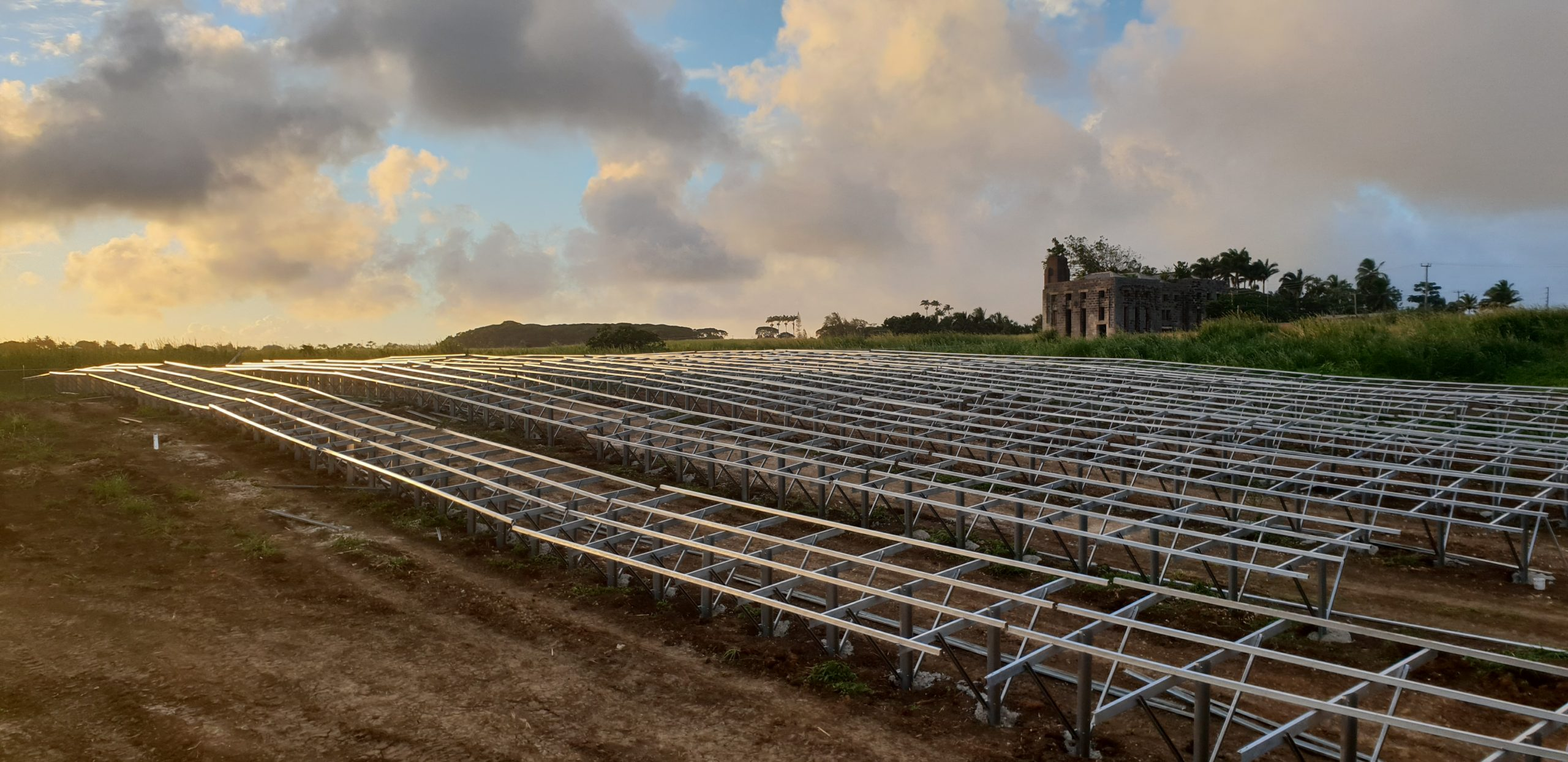 Financed by the Abu Dhabi Fund for Development (ADFD), the UAE-CREF is the largest renewable energy initiative of its kind in the Caribbean. Image: Masdar