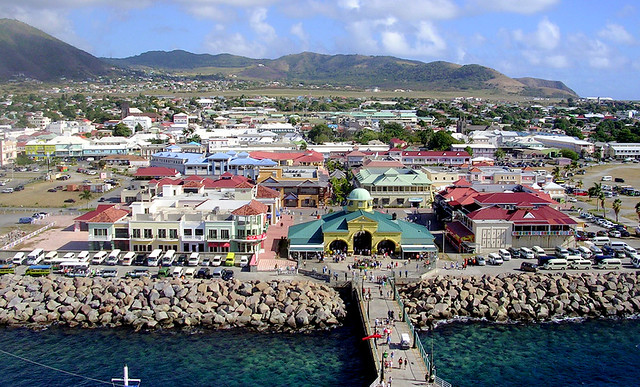 The solar-plus-storage plant will be built near country capital Basseterre (pictured).Source: Roger W, Flickr