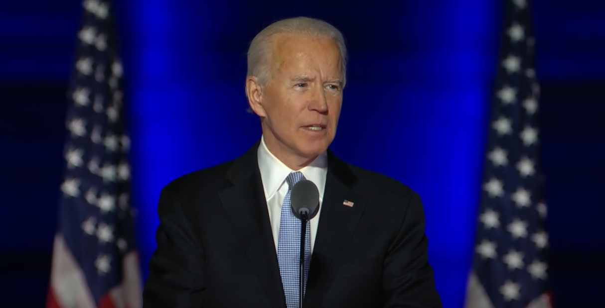 Image: Biden for President.