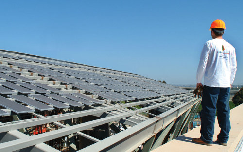 Borrego's previous solar experience has been largely limited to community solar. Image: Borrego.