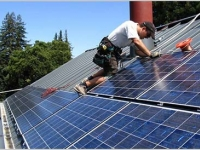 PACE financing is becoming increasingly popular for solar in the US. Image: Borrego Solar.