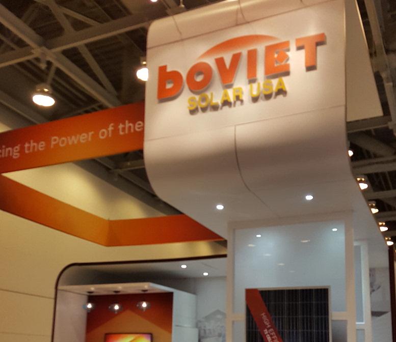 Boviet Solar's new modules will begin shipping in the first quarter of 2017. Image: Boviet Solar