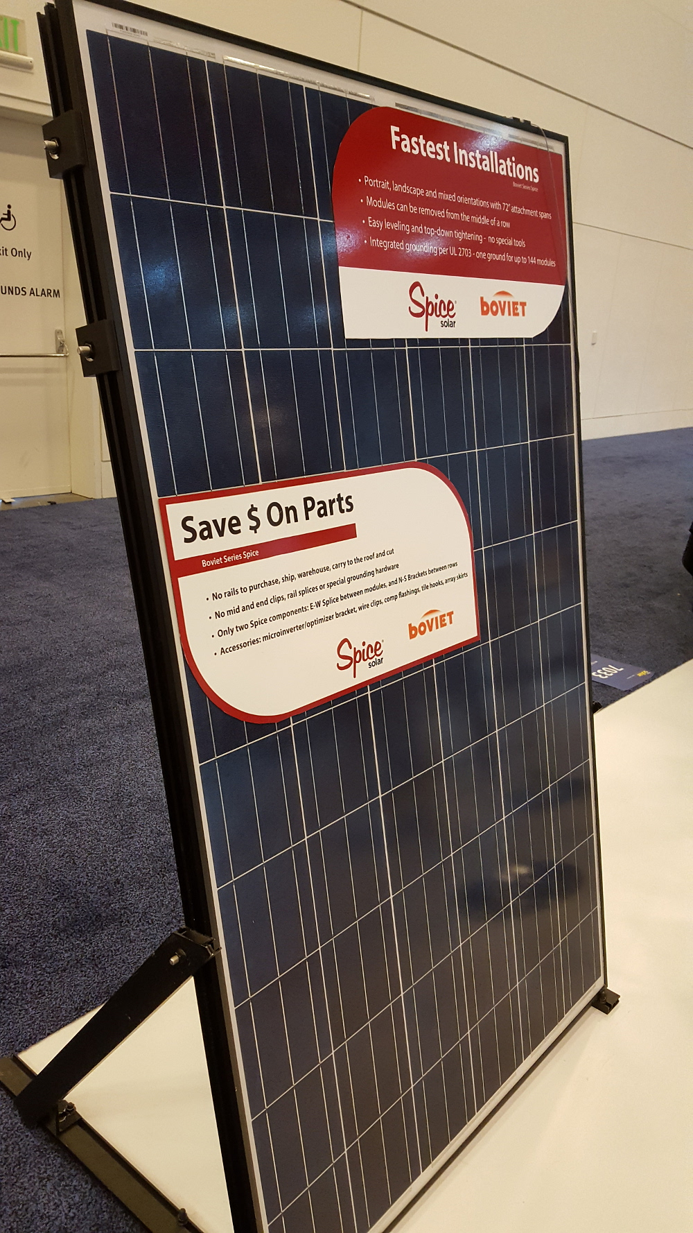 Boviet Solar Technology has added a 72-cell, 1500VDC multicrystalline module to its growing product portfolio, designed for the growing commercial and utility-scale demand in the US for the higher voltage modules.