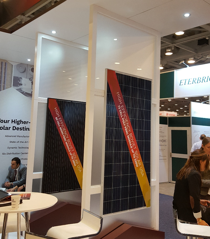 Vietnam-based Boviet Solar Technology is promoting its new line of PERC (Passivated Emitter Rear Contact) solar modules that will include an n-type mono-PERC module.