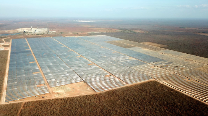 The Apodi Solar plant is owned 43.75% by Scatec Solar, 43.75% by Equinor and 12.5% by the holding company Apodi Participações. Credit: Scatec Solar