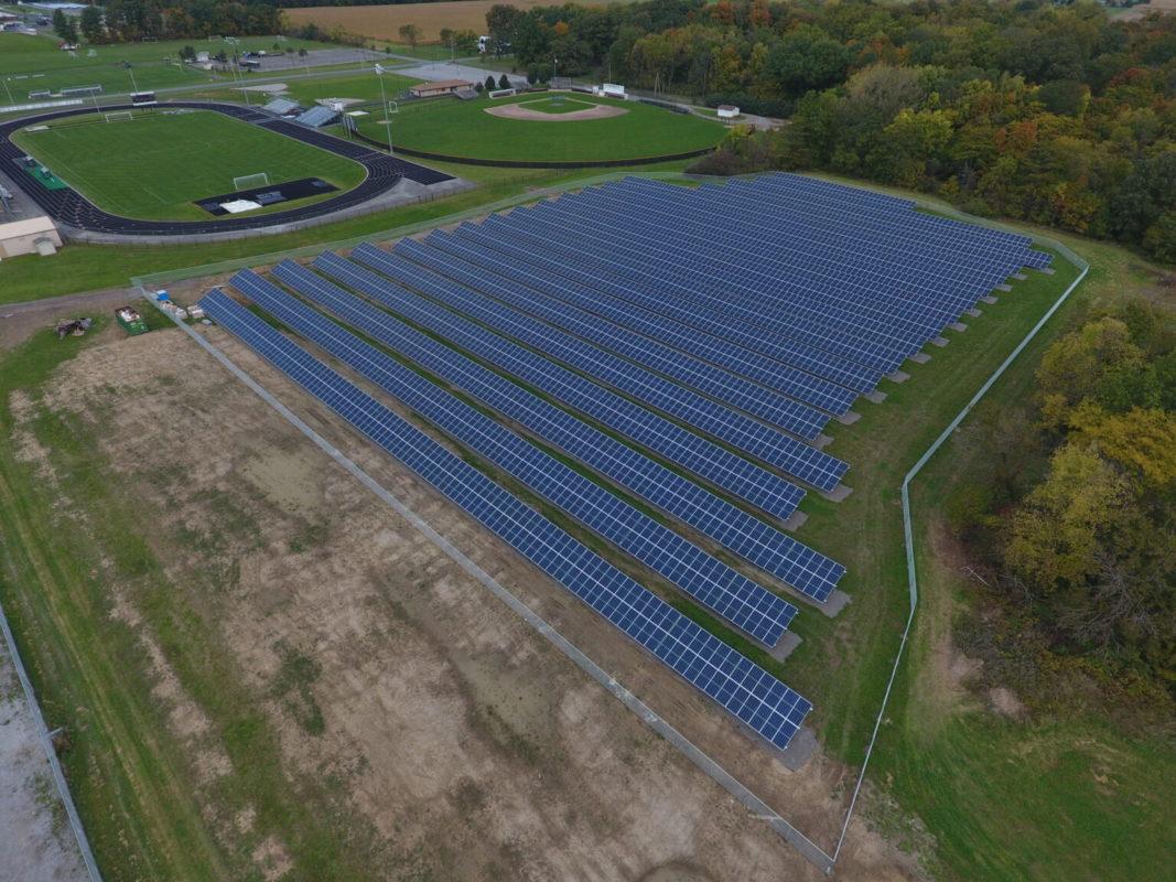 Brilliant Capital's Elida solar farm. Image: Brilliant Capital.