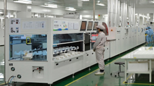 The initial project includes 20GW of advanced PERC (Passivated Emitter Rear Cell) solar cell as well as 4.5GW of highly automated module assembly capacity at a total cost of RMB 2,963 million (US$453 million). Image: CECEP Solar