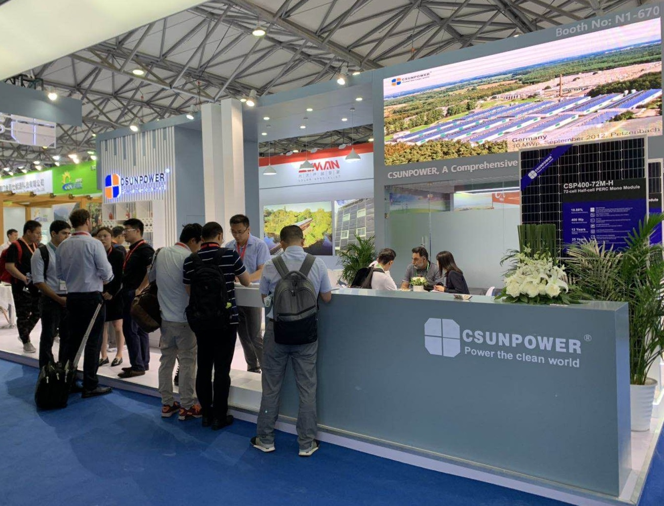 The company is hoping to use growing overseas solar markets to catalyse its own development.