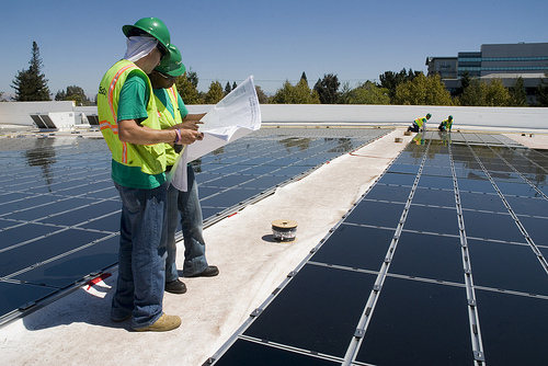 The bill aims to even out the net metering policies across areas serviced by investor-owned utilities and municipal utilities alike. Source: Flickr - Walmart Corporate