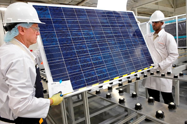 Canadian Solar is planning new manufacturing plants in multiple countries. Image: Canadian Solar