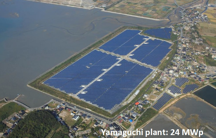 Canadian Solar said that the Tottori plant used 85,320 'MaxPower' modules that are expected to generate approximately 26,259 MWh of electricity each year, which will be purchased by Chugoku Electric Power under a 20-year feed-in-tariff contract at the rate of ¥40.0 (US$0.32) per kWh. Image: Canadian Solar