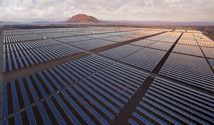 Centinela Solar Energy is located near El Centro, California, and was designed and built by Fluor. Image: Fluor.