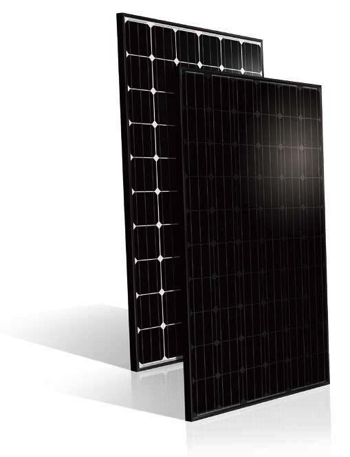 The company is highlighting its US Series 60 and 72-cell solar modules, which have a maximum power output of 305W, while 72 cell modules reach up to 365W. Image: CertainTeed