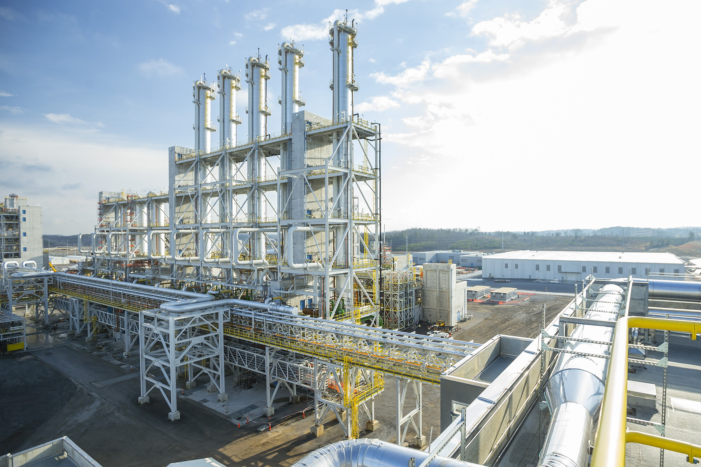 Wacker's recently opened US poly plant in Charleston, Tennesee. Source: Wacker Chemie.
