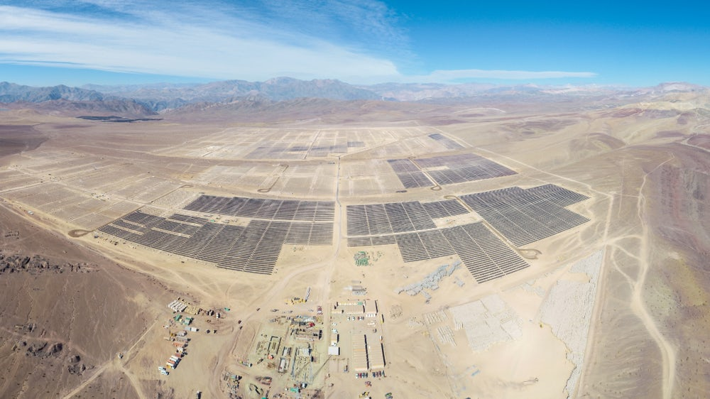 Chile remains among solar's hottest international markets for investment. Image: Mainstream Renewable Power.