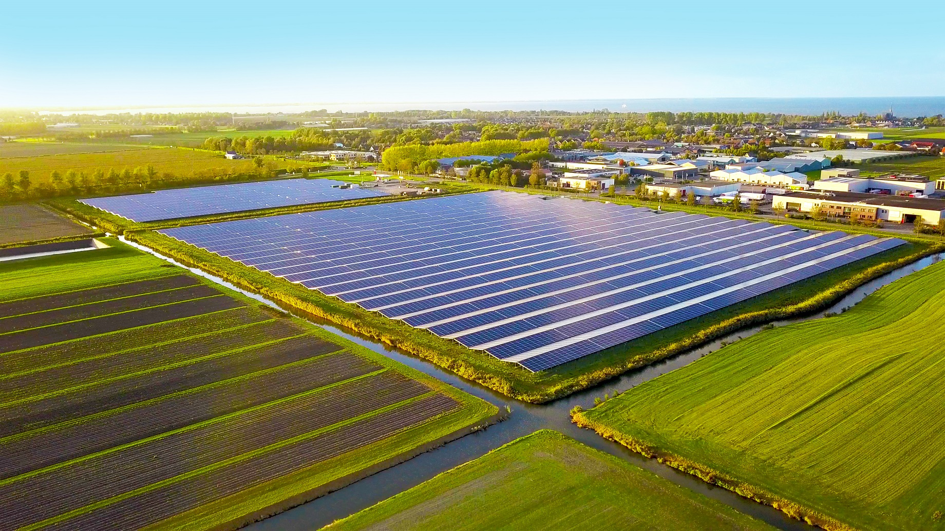Chint Solar's 15MW project in Andijk, The Netherlands. Source: Chint Solar.