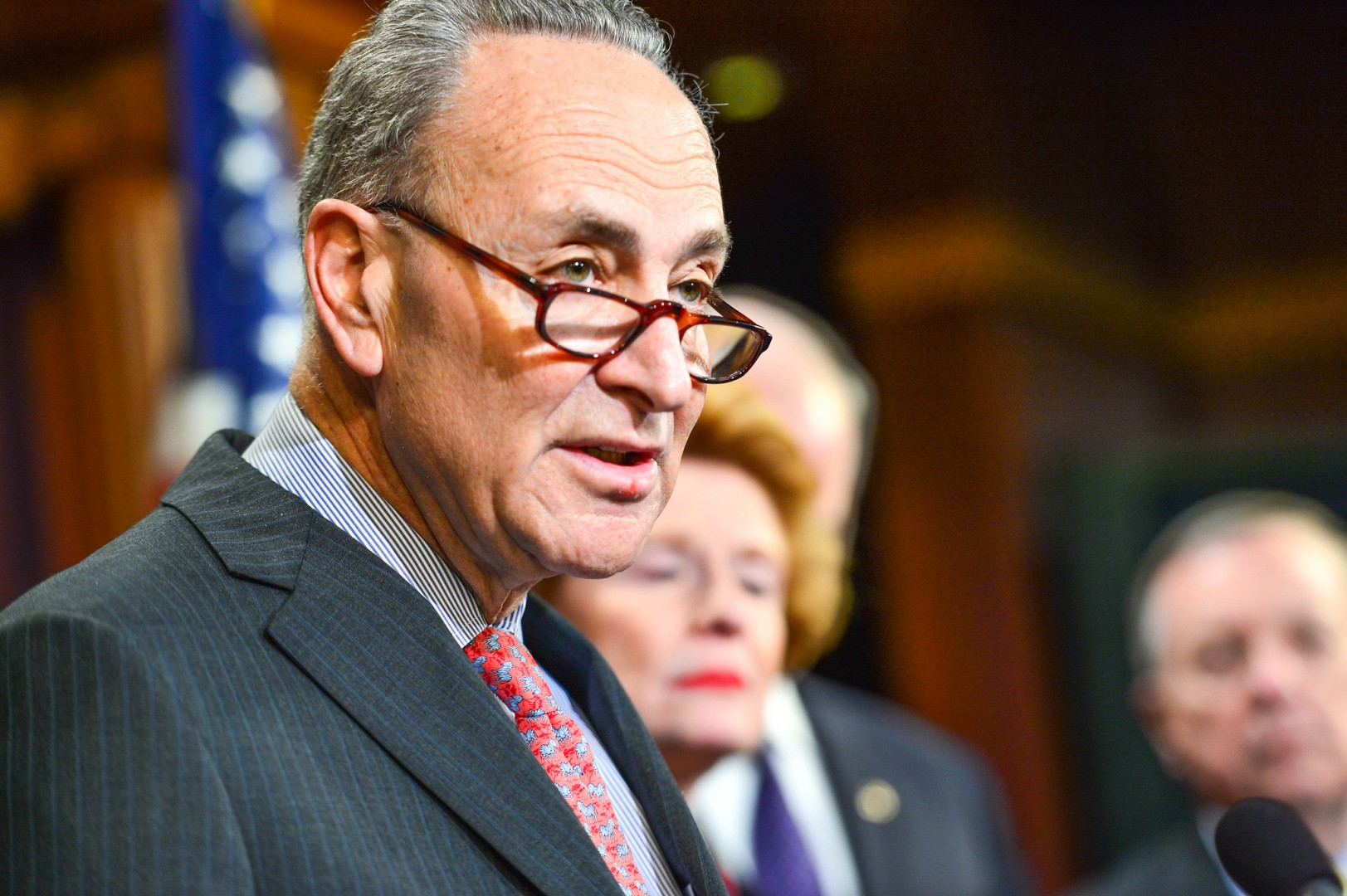Senate Democrat leader Chuck Schumer said the crisis was