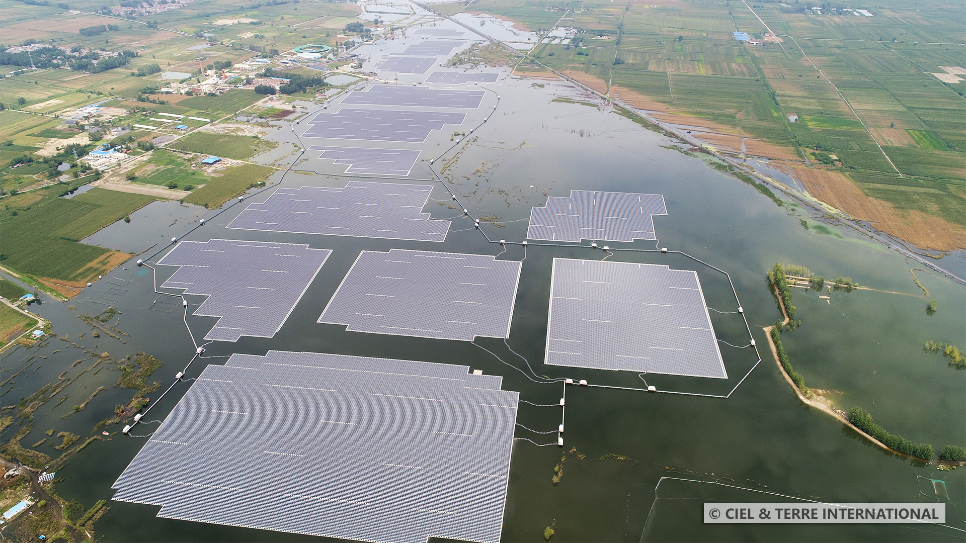 China-based firm Three Gorges New Energy, has already partially connected a 150MW floating PV project to the grid, which is likely to become the largest plant globally once fully commissioned. Credit: Ciel & Terre International