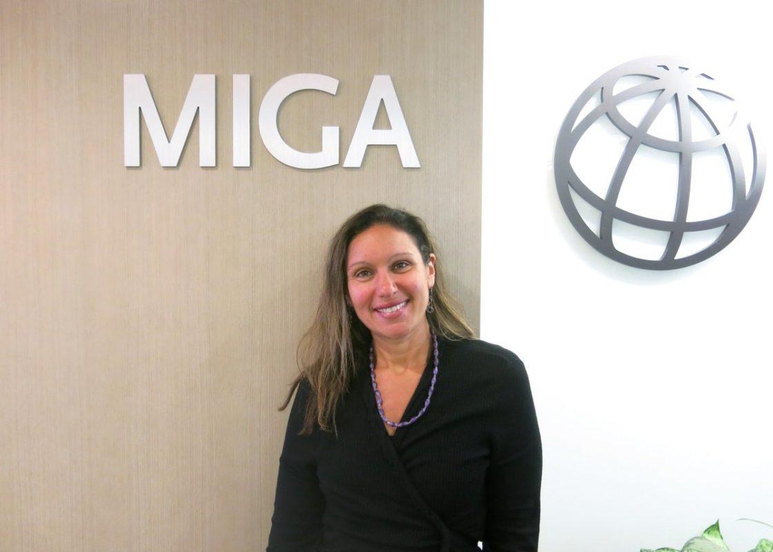 Hoda Atia Moustafa, Africa regional officer of MIGA. Source: World Bank Group