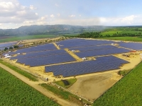 The San Carlos Solar project is currently the largest operating PV plant in the Philippines. Image: Conergy.