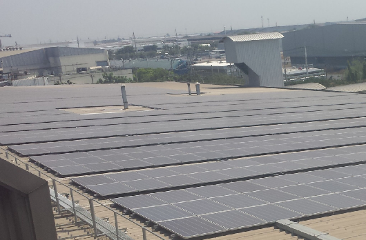Solareo Asia has made in-roads into the fast growing market of PV industrial sales at grid party without subsidies. Credit: Solareo
