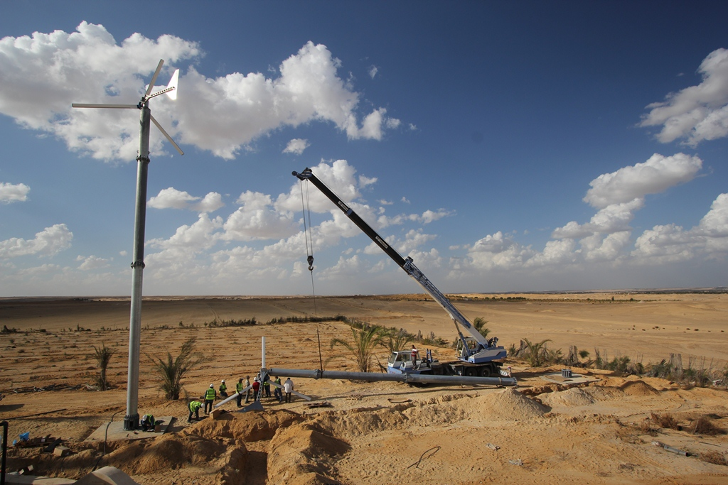 Egypt has overcome some contractual hurdles as it looks to deliver on a 1.5GW tendering round. Source: juwi.