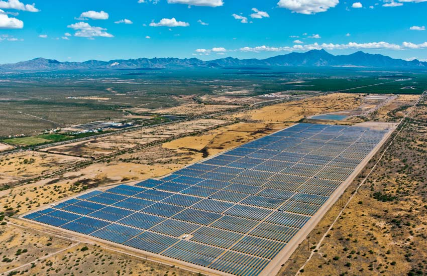 One of Coronal Energy's completed sites in Arizona. Image: Coronal Energy.