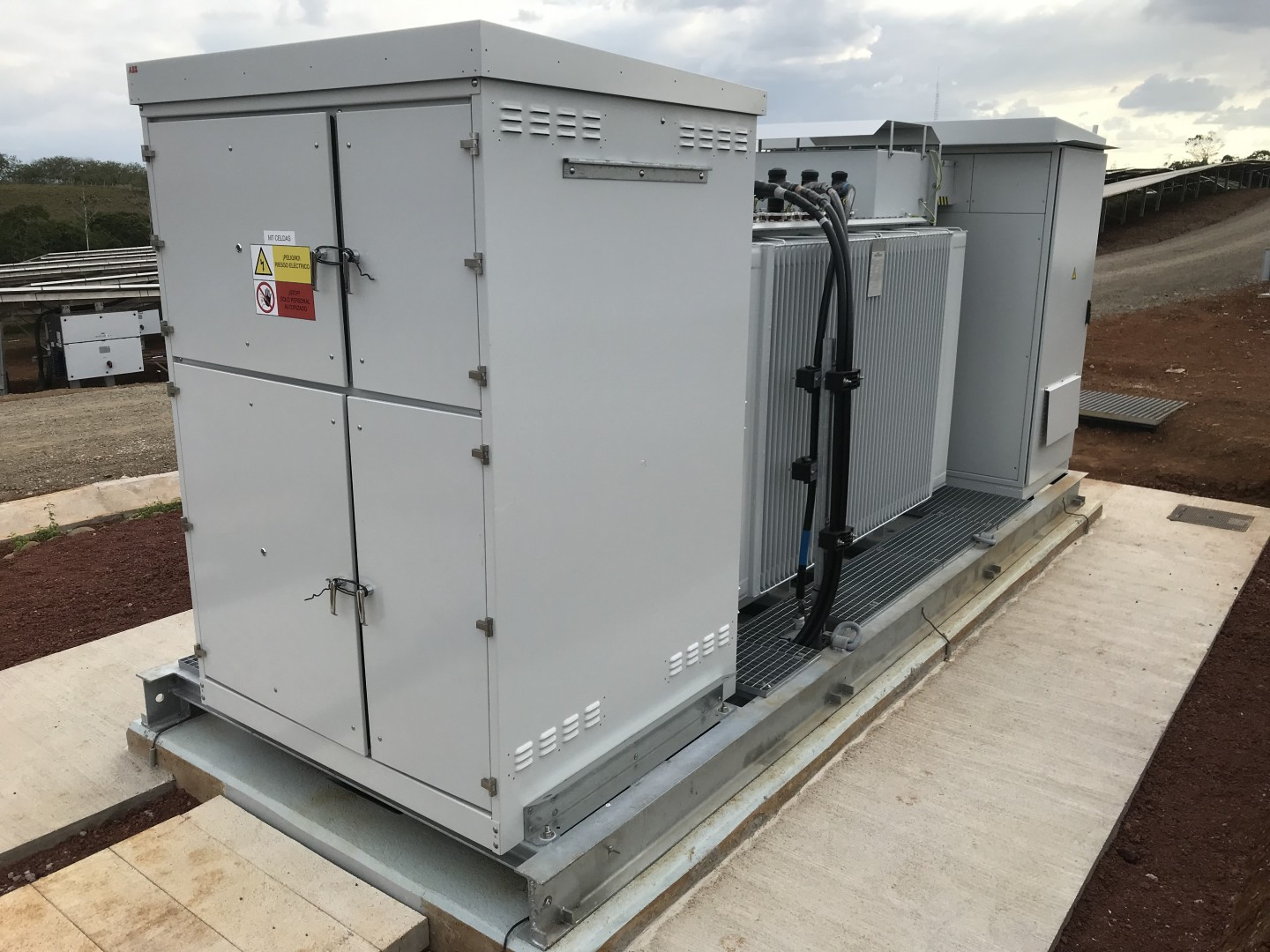 ABB's solar inverter business had been a