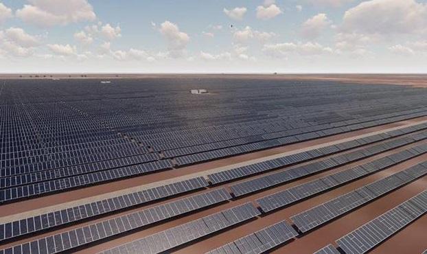 A current solar facility owned by GFG's energy business Simec. Image: Simec.