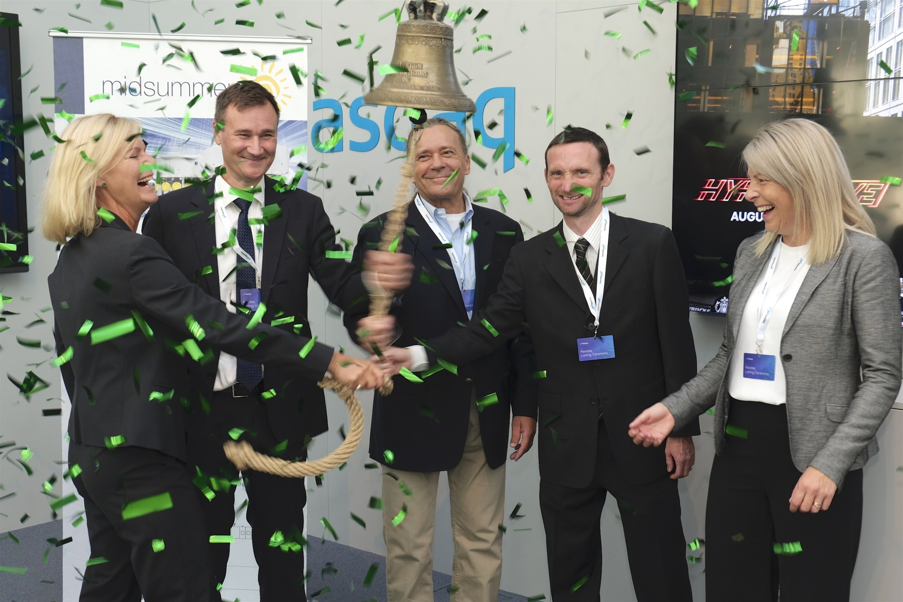 Trading of the green bond, which was issued on 25 April 2019 with an amount of US$20.6 million, has now started on the Sustainable Bond List of Nasdaq Stockholm. Image: Midsummer