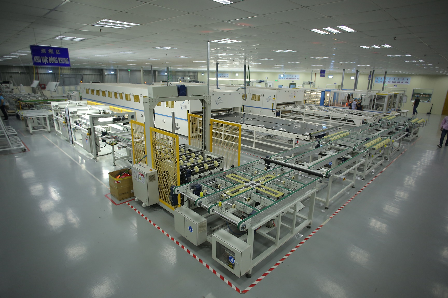 Dehui already runs 250,000 square feet across five production lines and has set aside a further one million square feet for future factories (Image credit: Dehui Solar)