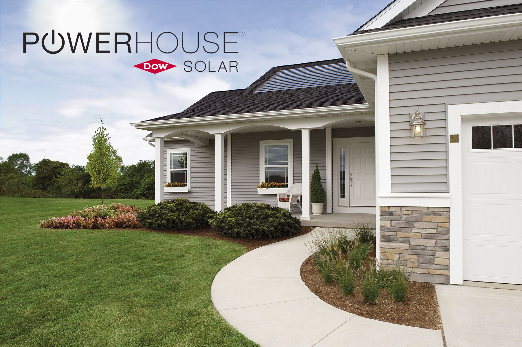 Dow produced BIPV 'solar shingles' at the former automotive parts plant, used primarily on new-build residential homes in a number of regions in the US. The product was not made available outside the US.