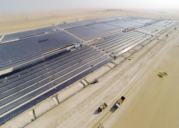 Dubai has set a 75% renewable energy goal for 2050.