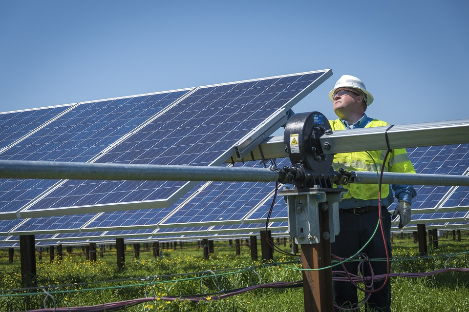 The project is the second 200-MWac Texas solar facility that Duke Energy Renewables has brought online this year. Image: Duke Energy.