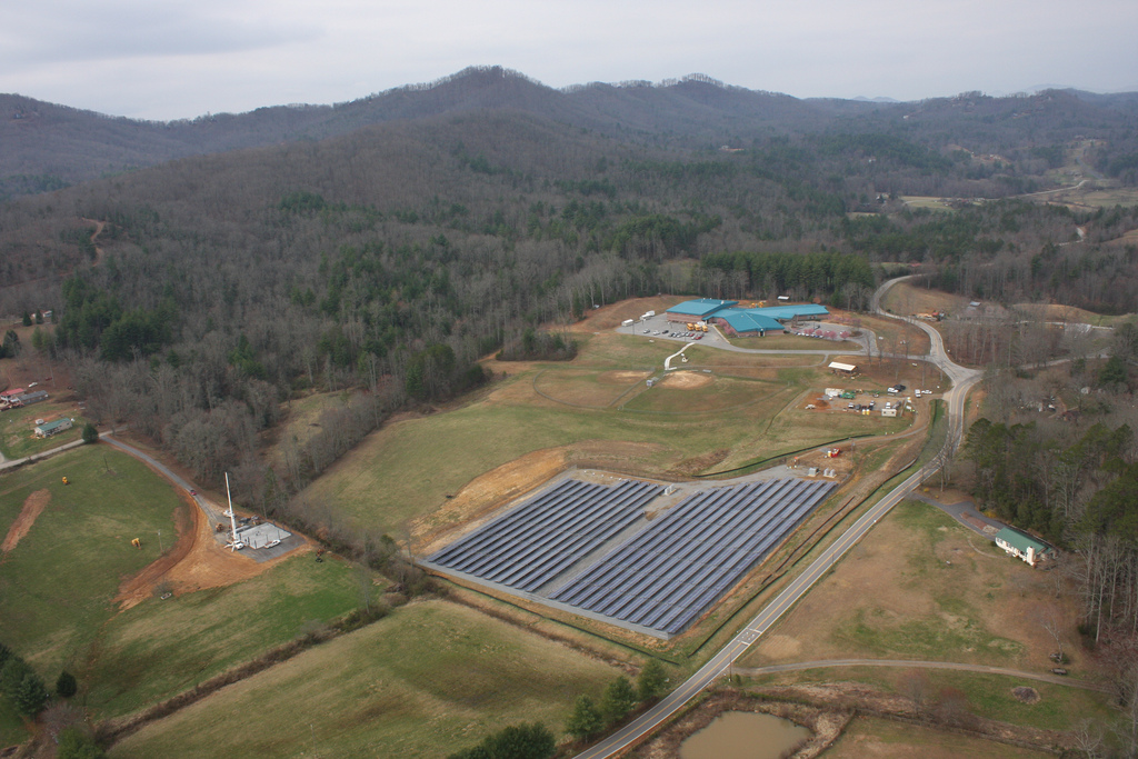 All of the electricity created from the three solar projects will be fed into Duke Energy Kentucky's electric grid and sent to homes, businesses, schools, places of worship and other customers in the area. Image: Duke Energy