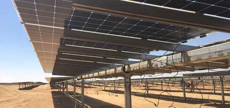 The bifacial solar panels installed at these projects stand as another step forward in a market that is investing in the potential of said panels. Image: EBRD